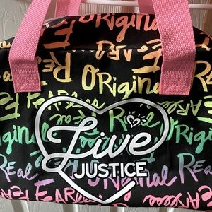Justice girls bag